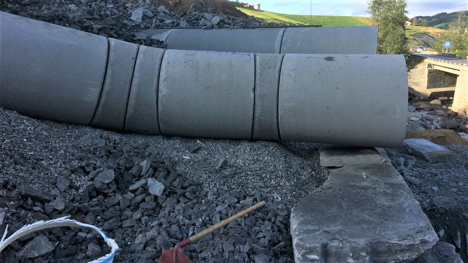 Bend og overganger til betongrør